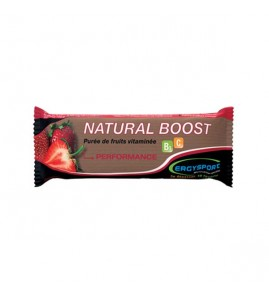 BARRES NATURAL BOOST FRAISE 30G