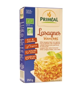 LASAGNES BLANCHES 250G PRIMEAL