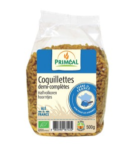 COQUILLETTES 1/2 COMPLETES 500G PRIMEAL