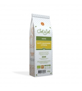 MATE GINGEMBRE CITRON INFUSETTES 30G SOL A SOL