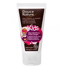 DENTIFRICE KIDS FRUITS ROUGE 50ML DOUCE NATURE